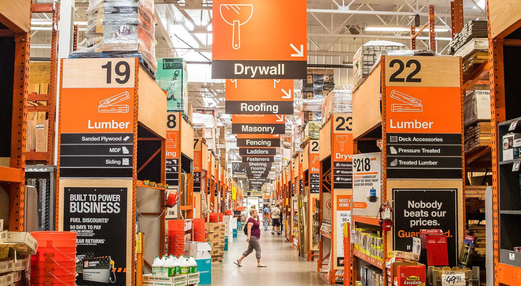 The Home Depot - a home improvement retailer
